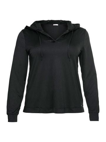 Sheego Funktionsshirts in schwarz+weiß