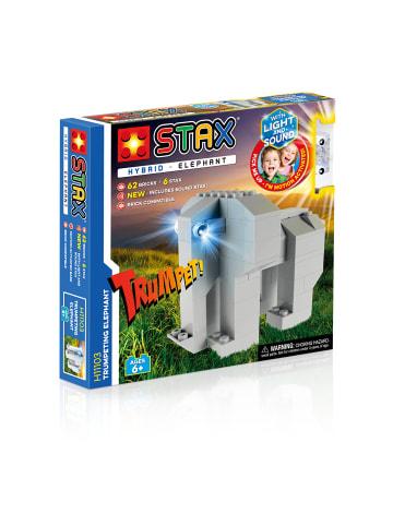 "STAX LED-Bausteine ""HYBRID Trumpeting Elephant"" in Bunt"