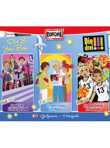 Sony CD Die Drei !!! 08 - 3er Box, Folgen 22-24