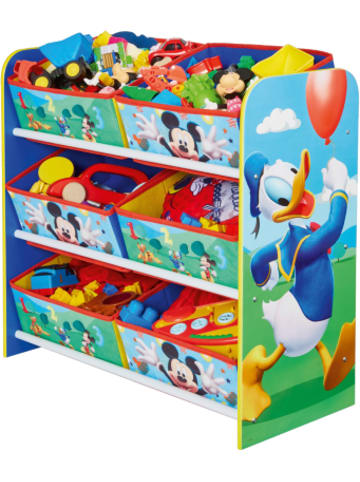 Worldsapart 6-Boxen Regal, Mickey & Donald
