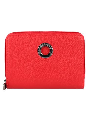 Mandarina Duck Mellow Leather Geldbörse Leder 14 cm in flame scarlet