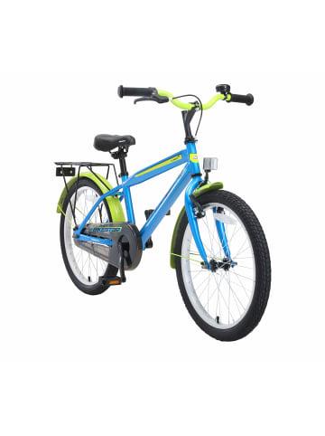 "BIKESTAR Kinder Fahrrad ""Urban City"" in Blau - 20 Zoll"