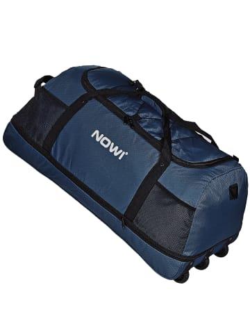 Nowi XXL Riesen Reisetasche mit 3 Rollen Rollenreisetasche 81 cm in dark blue