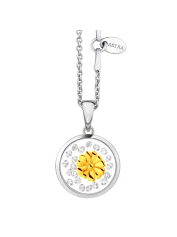 Astra Kette mit Anhänger DAISY in yellowgold