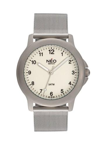 NEO Watch NEO Watch Armbanduhr aus Edelstahl in Silber