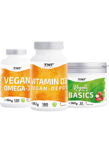 TNT True Nutrition Technology Kapseln Vegan Health Bundle in bunt