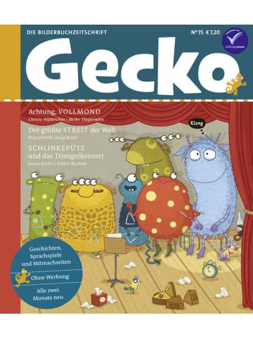 """Gecko Kinderzeitschrift Einzelheft """"Gecko Kinderzeitschrift"""" Nr. 75"""