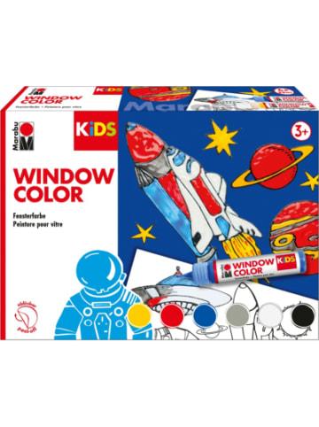 Marabu KIDS Window Color Set WELTALL, 6 x 25 ml