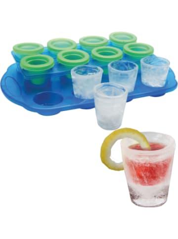 BARBUZZO Eisform für 12 Shooter Gläser aus Eis