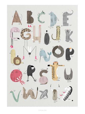 """Typealive Print """"ABC Kids"""" / A3 bis 60 x 90 cm"""