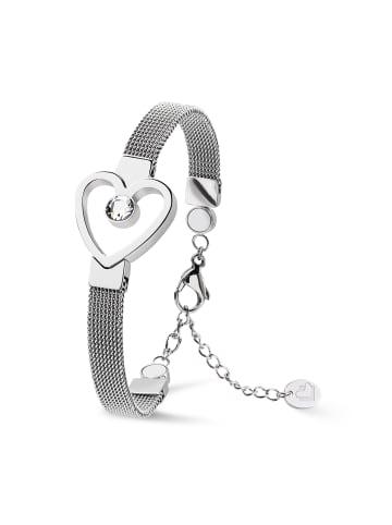 "Lunavit Armband ""Tiamo"" in Silber (L) 15,0 cm - 19,0 cm"