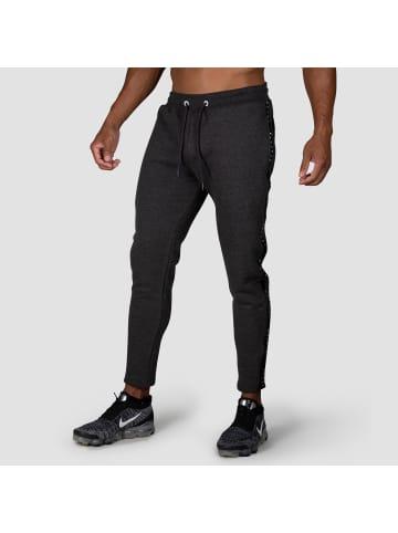 MOROTAI Jogginghose Taped Pants in Dunkelgrau