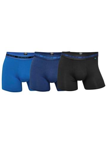 JBS Boxershorts 3er Pack in Blau