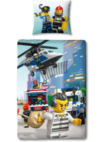 Character World LEGO City Bettwäsche Set, 135 x 200 + 80 x 80 cm
