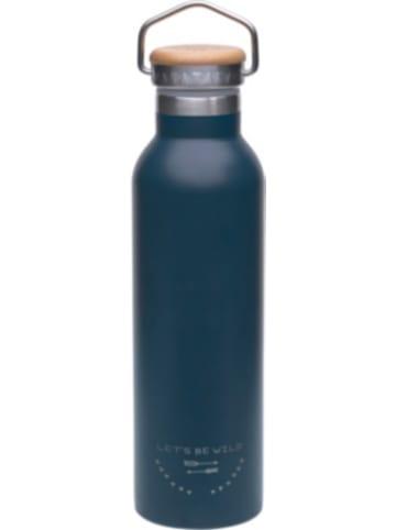 Lässig Edelstahl Isolier-Trinkflasche Adventure blau, 700 ml