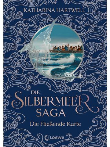 Loewe Die Silbermeer-Saga (Band 2) - Die Fließende Karte   Zweiter Band des...