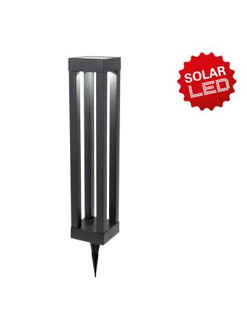 """Näve LED Solar-Erdspieß/Tischleuchte """"Pillar"""" (H) 54,4 cm in Schwarz"""