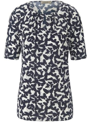 UTA RAASCH Shirt Rundhals-Shirt in offwhite/nachtblau