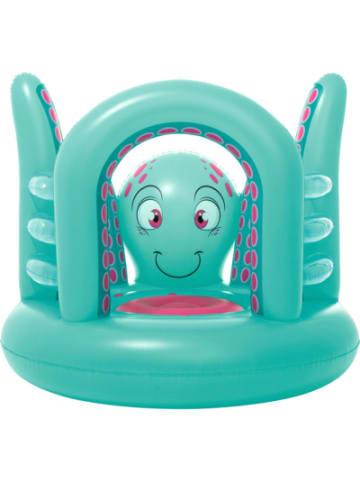 Bestway Mini Hüpfburg Octopus, aufblasbar, 142 x 137 x 114 cm