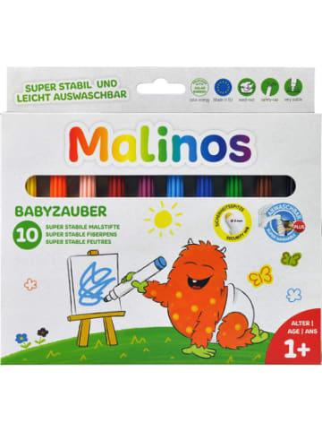 AMEWI Babyzauber - 10 abwaschbare Malstifte