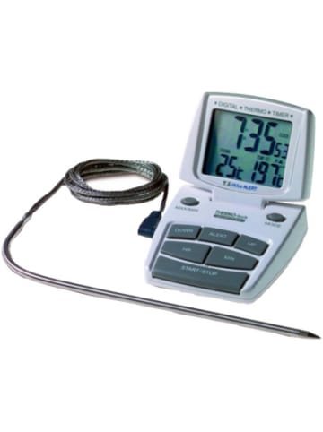TFA-Dostmann Digitales Grill- & Bratenthermometer mit Timer