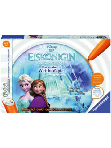 Ravensburger tiptoi® Spiel Die Eiskönigin völlig unverfroren - Das verdrehte Wettlaufspi...