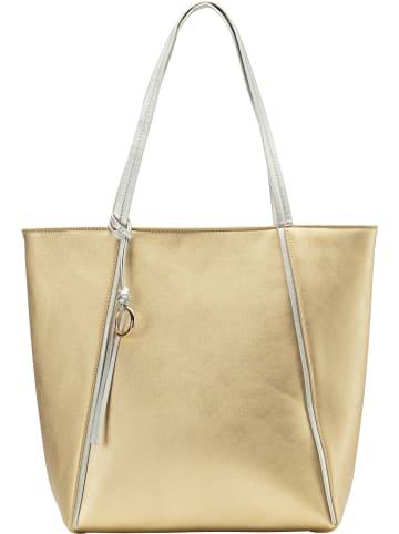 MyMo at night Tote-Bag in Gold Metallic