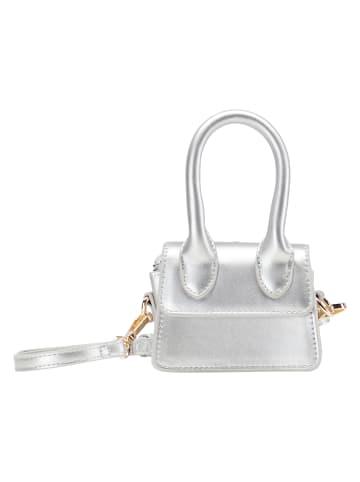 MyMo at night Mini Abendtasche in Silber Metallic