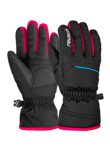 Reusch Fingerhandschuh Alan Junior in blck/blck/pink glo