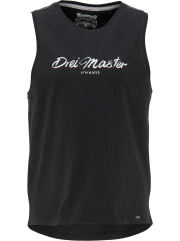 DreiMaster Vintage Top in Schwarz