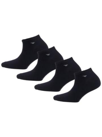 Tom Tailor 4er Pack Sneaker Uni Basic, 4er Sneakersocken