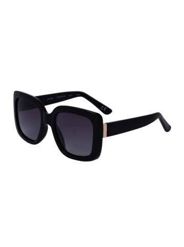 TOSH Sonnenbrille große Gläser mit Glanz-Optik in SMOKE