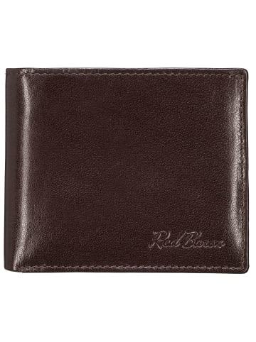 Red Baron Portemonnaie in Braun - (L) 12 x (B) 10 cm