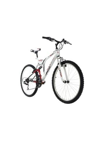 KS CYCLING Mountainbike Fully 26'' Zodiac in weiß