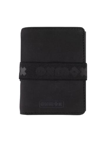 Oxmox Slim6 New Cryptan Kreditkartenetui RFID 7,5 cm in black