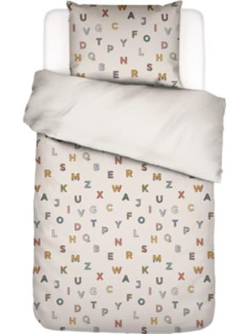 Covers & Co Wende-Kinderbettwäsche Alphabet, multi, 135 x 200 cm + 80 x 80 cm