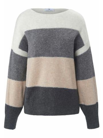 PETER HAHN Pullover wool in beige/multicolor