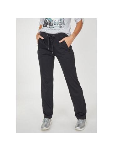 Hajo Polo & Sportswear Jogg-Pants Stay Fresh in schwarz
