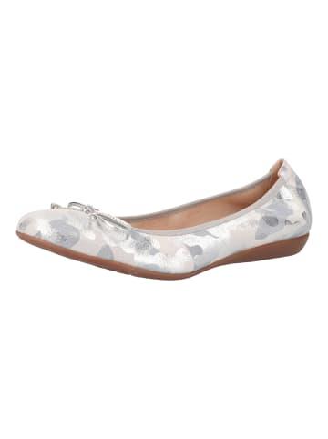 Wonders  Ballerinas in Grau/Silber