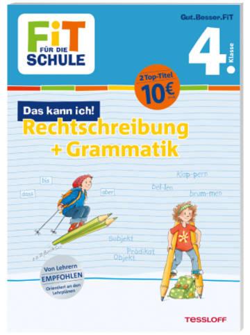 Tessloff Fit für die Schule: Das kann ich! Rechtschreibung + Grammatik 4. Klasse