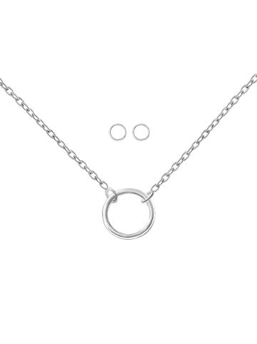 Alexander York Schmuckset CIRCLE in 925 Sterling Silber, 4-tlg.