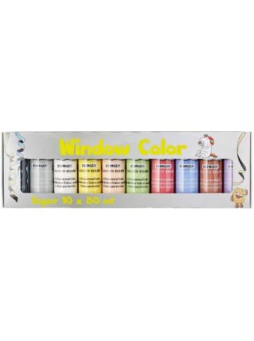Stanger Window Color Superset, 10 Farben inkl. Vorlage