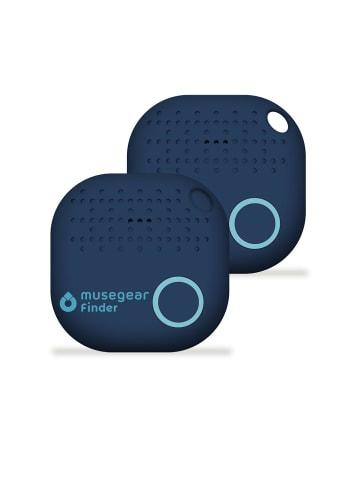 """Musegear Bluetooth-Schlüsselfinder """"Finder 2"""" in dunkelblau 2er Pack"""