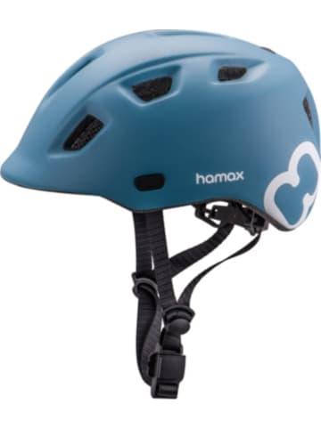 Hamax Fahrradhelm Thundercap PETROL BLUE/WHITE 52-57 cm