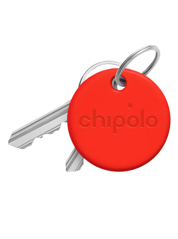 Chipolo Bluetooth Tracker CHIPOLO ONE Rot in rot