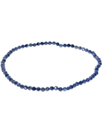 Adeliás Saphir Armband 19 cm in blau