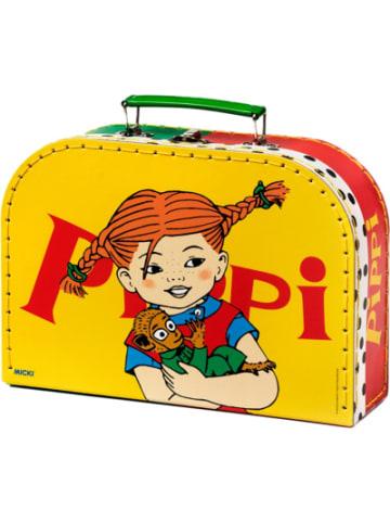 Micki Kinderkoffer Pippi Langstrumpf gelb