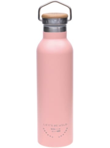 Lässig Edelstahl Isolier-Trinkflasche Adventure rose, 700 ml