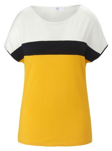 EMILIA LAY Shirt Rundhals-Shirt in gelb/multicolor