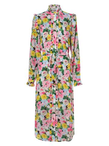 Essentiel Antwerp Kleid Zider in pink mehrfarbig
